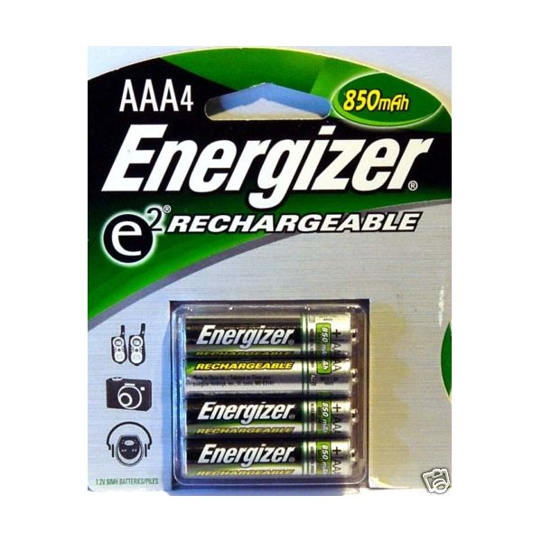 piles rechargeables energizer aaa nimh 850mah. Black Bedroom Furniture Sets. Home Design Ideas