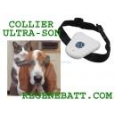 Collier anti-aboiement ultrason chien