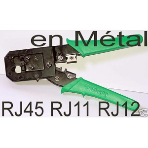 Pince sertir cable réseau RJ45 telephone RJ11