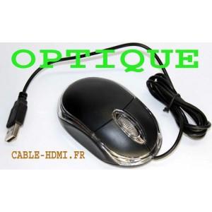 Mini Souris Optique Roulette 3D USB 2.0 Hi-Speed