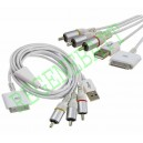 Cable AV TV IPHONE 3G IPOD Nano Classic Video