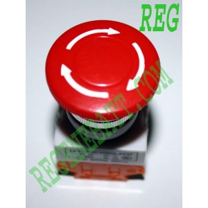 Bouton Interrupteur d'arrêt d'urgence - NO ou NF