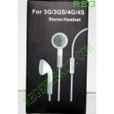 kit piéton iPhone 3G 3GS 4G 4GS earphone, Casque écouteur