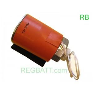 Ceinture chauffante silicone 12v 100w filtre a Gasoil, huile