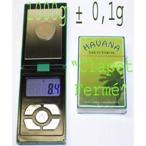 Mini Balance électronique 1000g ± 0,1g cigarettes