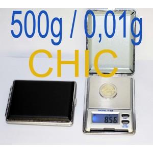 500g ± 0,01g Balance électronique de précision